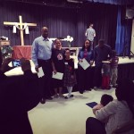 Recognizing four new partners that God added to our church…