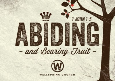1 John - Abiding and Bearing Fruit