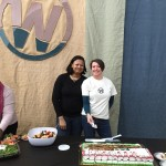 Two volunteers helping us celebrate the commission service for our…