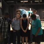 Wellspring leaders praying over Pastor Stephen Wagoner and his lovelyhellip