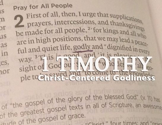 1 Timothy - Leadership